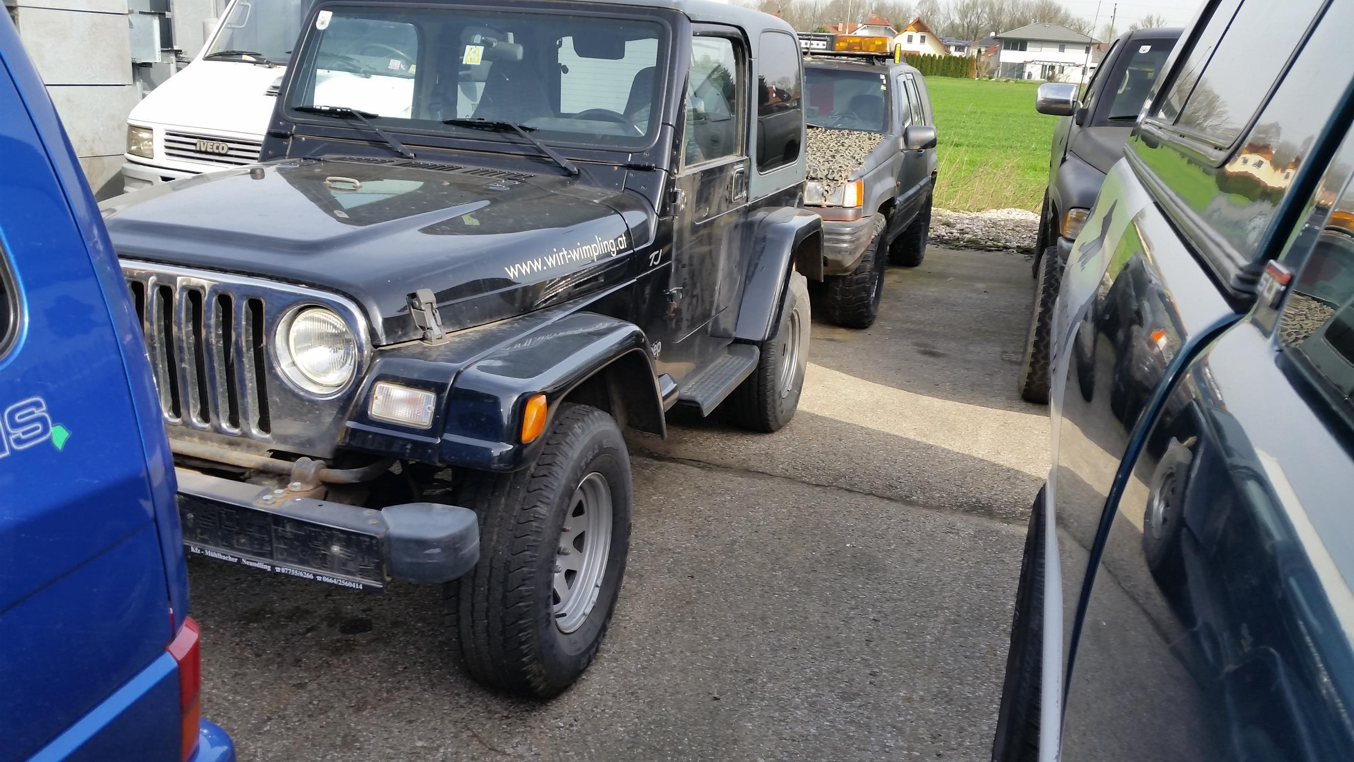 VERKAUFT!!!Jeep Wrangler TJ / 2.5 / Bastlerfahrzeug ...